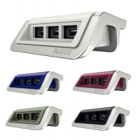 Incarcator cu 3 porturi USB Leitz Style