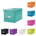 Cutie cubica medie Leitz WOW Click&Store