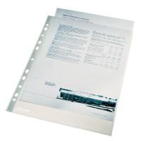 File protectie cristal A4, 40 microni, 100 buc./set, Esselte