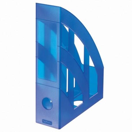 Suport vertical plastic translucid pentru cataloage Herlitz