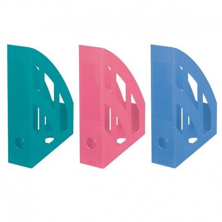 Suport vertical plastic pentru cataloage Herlitz Cool Color