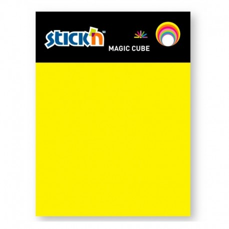 Magic cube color 101 x 76mm, 280 file, HOPAX - 7 culori neon