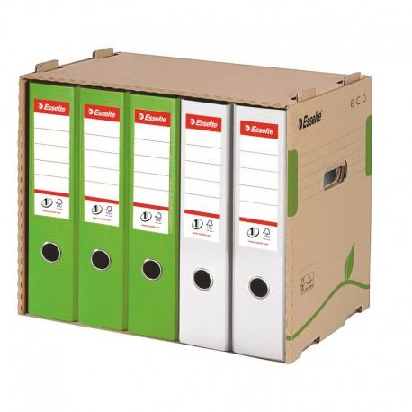 Container pentru arhivare bibliorafturi Esselte Eco