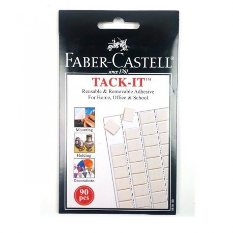 Guma adeziva Tack-It Faber-Castell 90 buc./set