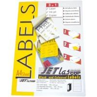 Etichete autoadezive pentru biblioraft 25 coli/set, Jetlascop
