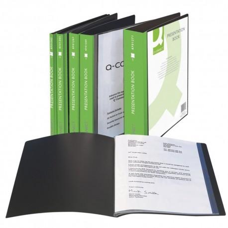 Dosar de prezentare personalizabil A4 cu 20 file Q-Connect