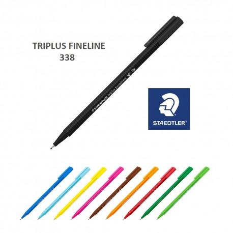 Liner 0,8 mm Staedtler Triplus Fineliner 338