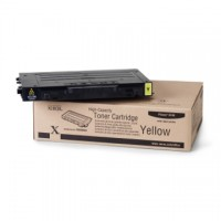 Cartus toner XEROX Phaser 6100 yellow high capacity