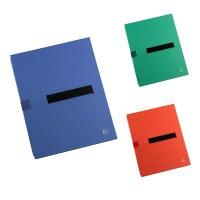 Dosar extensibil carton rigid, 3 pliuri, banda velcro,1100 file, JALEMA