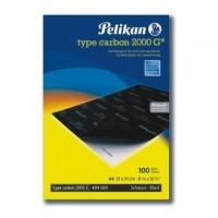 Carbon Pelikan A4, 100 file/top, negru (pt. masina de scris)