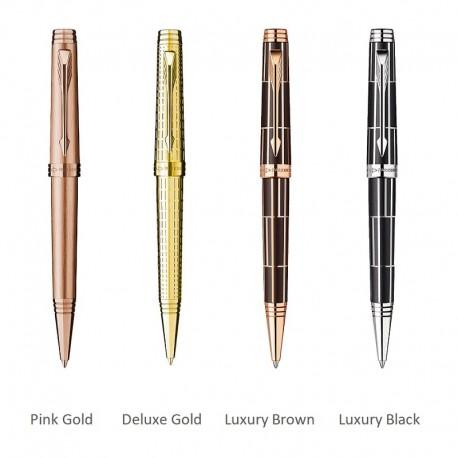 Pix Parker Premier gravat auriu, Luxury Brown/black