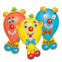 Baloane Funny Face set 6 bucati, Herlitz