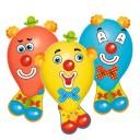 Baloane Funny Clowns set 6 bucati, Herlitz