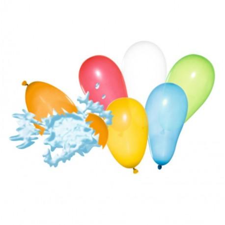 Baloane Water Bomb culori asortate, set 100, Herlitz