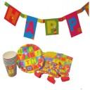 Set party Happy Birthday, 25 piese, Herlitz