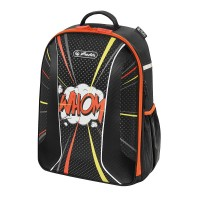 "Rucsac Herlitz Be.Bag Airgo Comic ""Whom"" + cadou caiet my.book flex A4"
