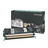 Cartus toner Lexmark C522, C524, C53x (C5220KS) negru 4K