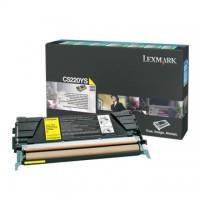 Cartus toner Lexmark C522, C524, C53x (C5220YS) yellow 3K