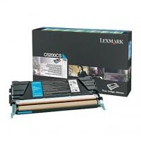 Cartus toner Lexmark C530 (C5200CS) cyan 1,5K