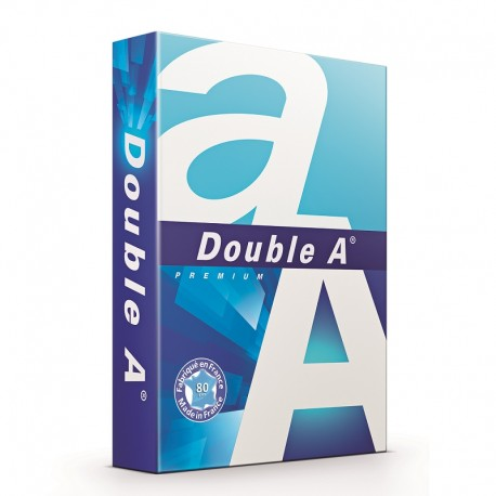 Hartie Double A Premium A4, 80g/mp, 500 coli/top