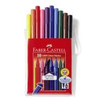 Carioca set 10 culori Faber-Castell Grip