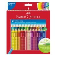 Creioane colorate Faber-Castell Grip set 48 culori