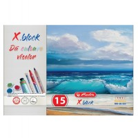 Bloc desen Herlitz A4, 16 file, 250g/mp
