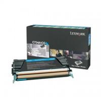 Cartus toner Lexmark C734, C736, X734, X736, X738 (C734A1CG) cyan 6K