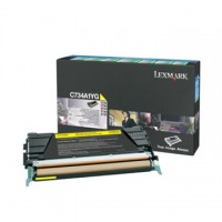 Cartus toner Lexmark C734, C736, X734, X736, X738 (C734A1YG) yellow 6K