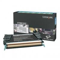Cartus toner Lexmark C734, C736, X734, X736, X738 (C734H1KG) negru 12K