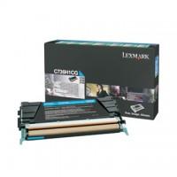 Cartus toner Lexmark C734, C736, X734, X736, X738 (C734H1CG) cyan 10K