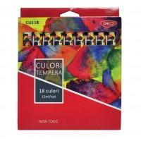 Tempera 18 culori Daco
