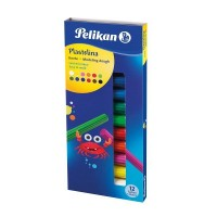Plastilina 12 culori, Pelikan