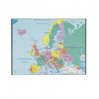 Mapa birou buretata harta Europa 41 x 62,5 cm, Lands