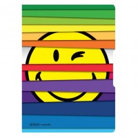 Caiet A5 My.Book Flex Smiley Jalousie, 2x40 file, Herlitz