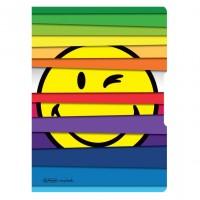 Caiet A5 My.Book Flex Smiley Jalousie, 2x40 file, Herlitz
