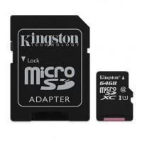 Card Micro Secure Digital HC 64 GB, clasa 10, Kingston