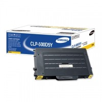 Cartus toner Samsung CLP-500D5Y (CLP500D5Y) yellow