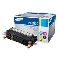 Kit 4 tonere Samsung CLT-P4092C (CLTP4092C) negru + C/Y/M