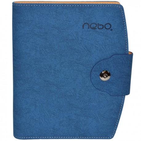 Agenda organizer A5 cu buton Nebo
