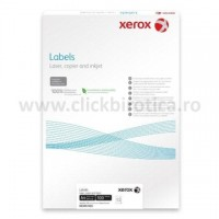 Etichete autoadezive XEROX Colotech+ Superlucios, 1/A4, 100 coli/top