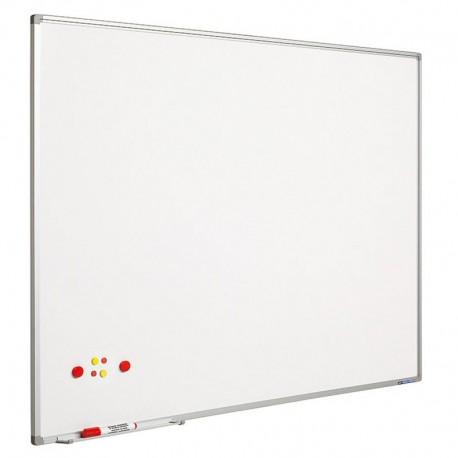 Whiteboard magnetic 120 x 150 cm, profil aluminiu SL, SMIT