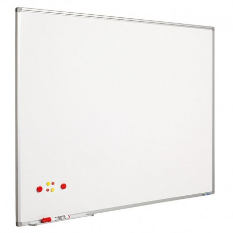 Whiteboard magnetic 120 x 240 cm, profil aluminiu SL, SMIT