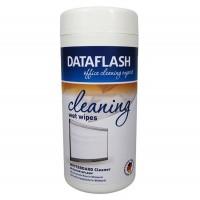 Servetele umede curatare whiteboard, 100 buc./cut., Data Flash