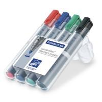 Marker flipchart set 4 culori Staedtler Lumocolor 356