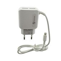 Incarcator universal 2xUSB si cablu Lightning (iPhone/iPad)