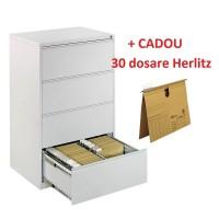Clasificator metalic dublu cu 4 sertare CEHA