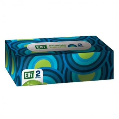 Servetele Elfi cutie set 150 buc., 2 straturi