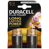 Baterii Durecell tip C (R14), set 2