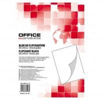 Rezerva hartie flipchart 58,8x81cm, 50 coli/set, Office Products